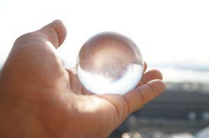 風水と水晶玉