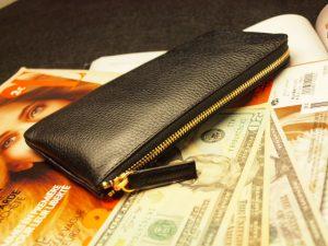 黒色の財布