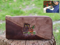 茶色の財布