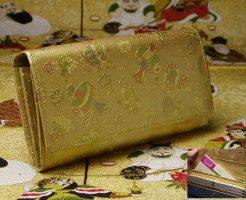 金運アップの金色の財布