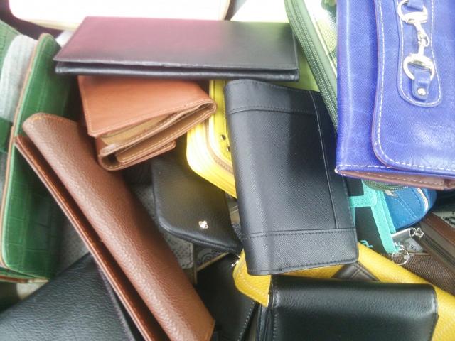 沢山の財布