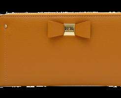 ベージュの財布