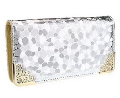 銀色の財布