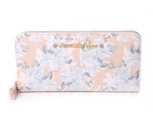 花柄の財布