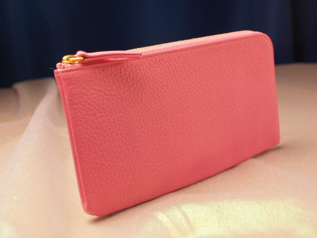 ピンクの開運財布